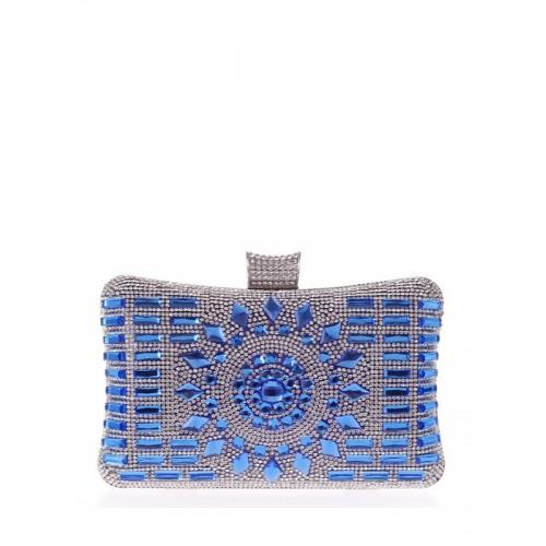 d8e1d7eed1f7e محفظة حريمي بتصميم لامع جميل بسلسلة معدنية