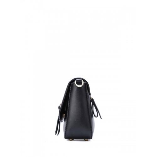f5b69aa60467d حقيبة كروس حريمي أنيقة صغيرة بلون أسود