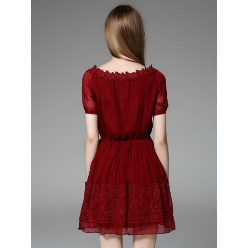 c2c85a6d78bc6 فستان ناعم جميل كم قصير