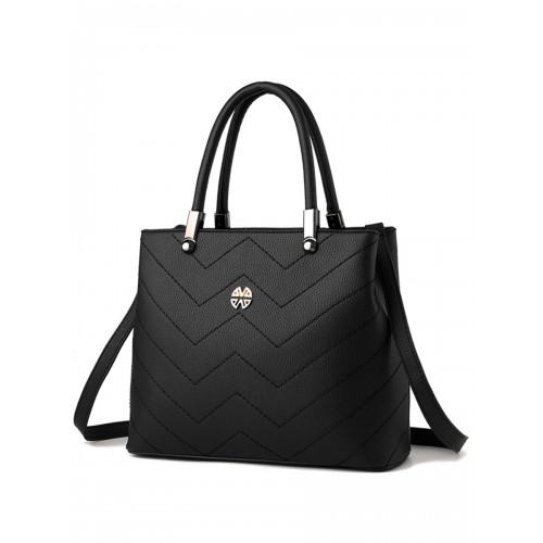 9a852e5ab4ce9 حقائب يد نسائي حقيبة فاتنة ستايل جديد موضة ساده بنهاية عالية